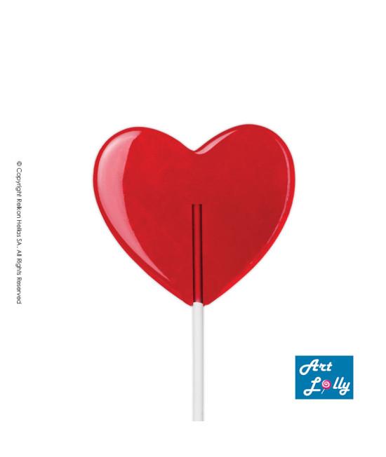 Lollipop Crystal Heart 50g