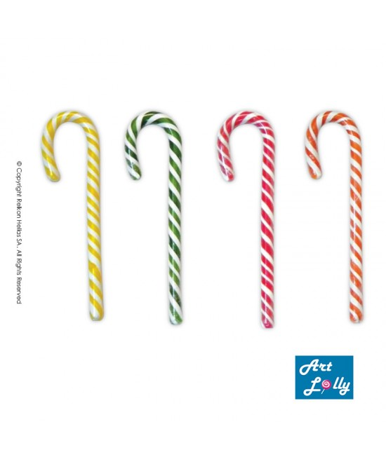 4-Colours Candy Canes 28g