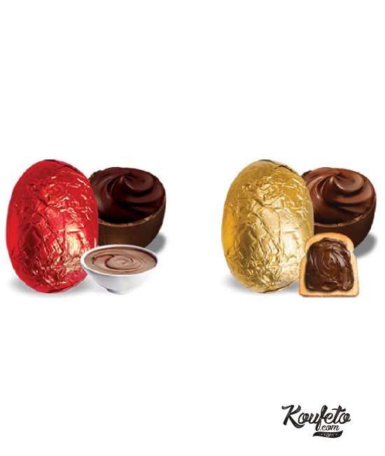 Wrapped Red - Golden Egg