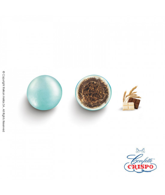 Κουφέτα Crispo Krixi (Δημητριακά & Διπλή Σοκολάτα) Περλέ Σιέλ 900gr