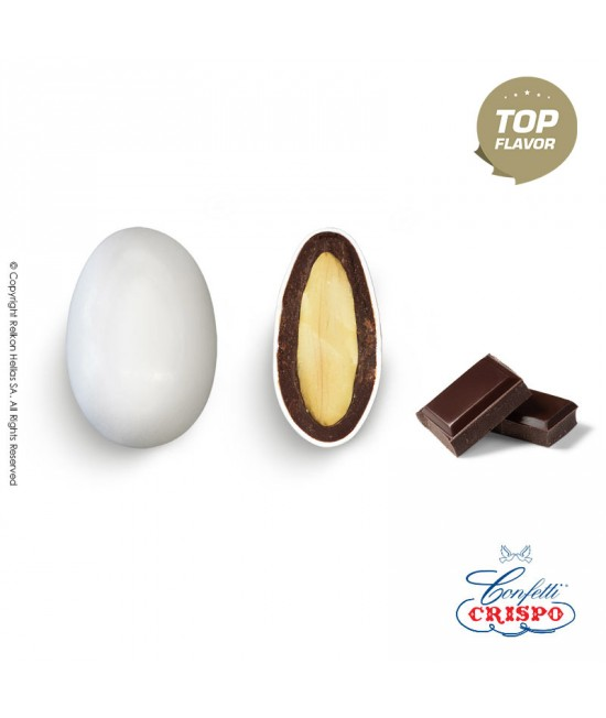 Confetti Crispo Snob (Almond & Chocolate) Bitter Chocolate 72% 500g