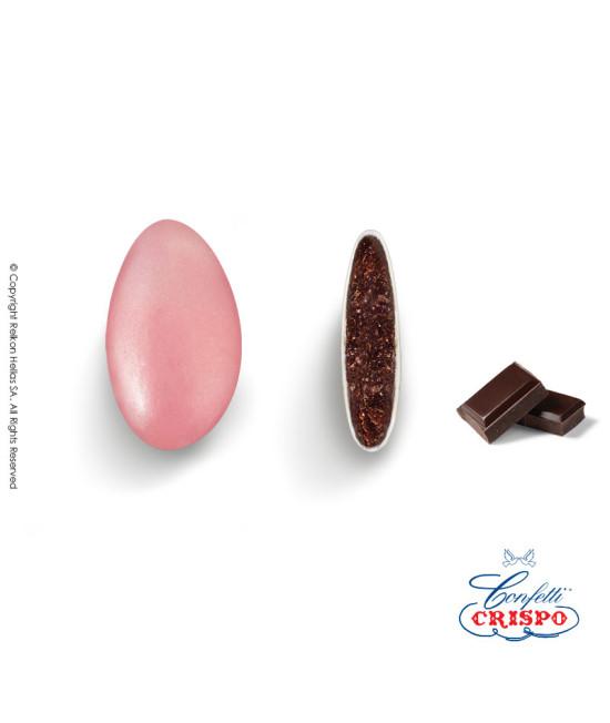 Κουφέτα Crispo Περλέ (Σοκολάτας υγείας) Ροζ 500g